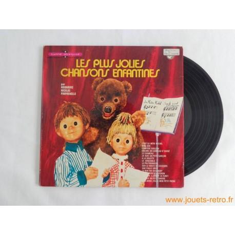 Les plus jolies chansons enfantines - Livre disque 33t