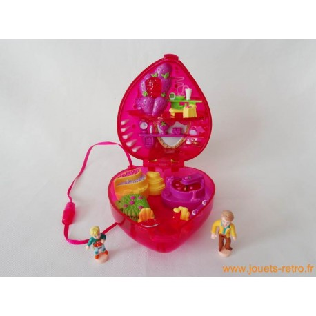Fruit surprise strawberry Polly Pocket 2000