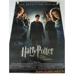 """Affiche cinéma """"Harry Potter et l'ordre du Phoenix"""""""