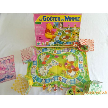 Le goûter de Winnie - jeu nathan 1986