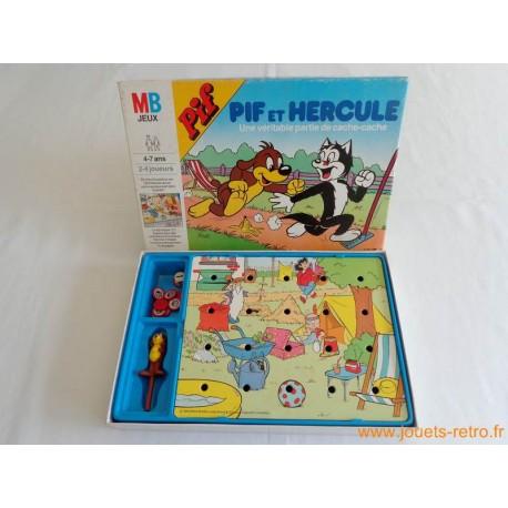 Pif et Hercule - jeu MB 1986