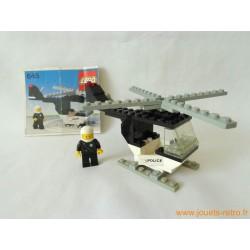 Hélicopter de police 645 Legoland