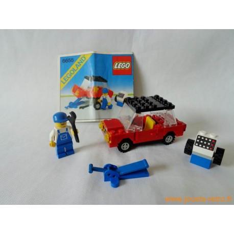 Voiture avec cric 6655 Lego