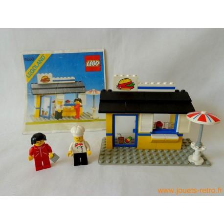 Hamburger boutique 6683 Lego