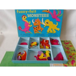 Fuzzy-felt monsters