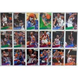 Lot 300 cartes NBA Fleer 94-95