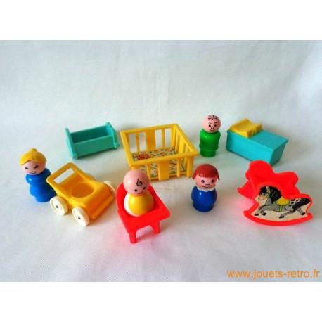 Chambre de bébé Fisher Price set complet
