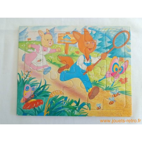 "Les Petits Malins ""papillon"" - Puzzle MB"