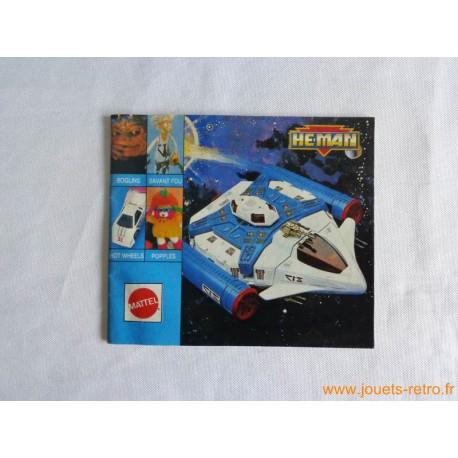 Catalogue jouets Mattel 1989 He-Man