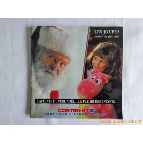 Catalogue jouets Continent Noël 1993