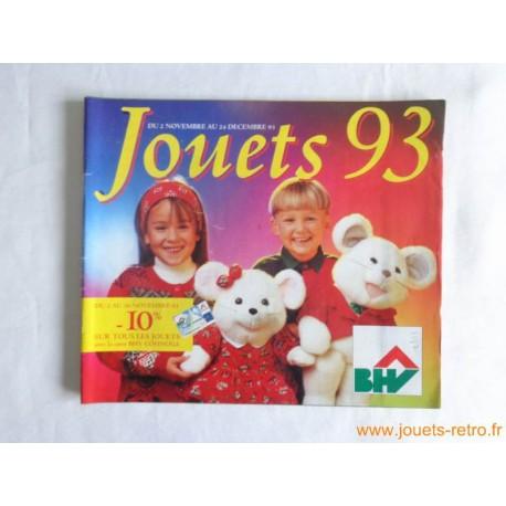Catalogue jouets BHV Noël 1993
