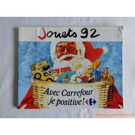 Catalogue jouets Carrefour Noël 1992
