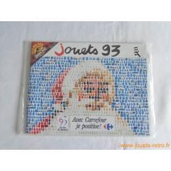 Catalogue jouets Carrefour Noël 1993 NEUF