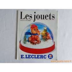 Catalogue jouets Leclerc Noël 1989