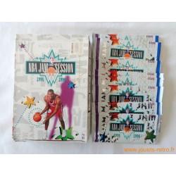 Paquet cartes NBA Fleer NBA JAM SESSION 1995-96 Basketball Panini