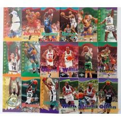 Lot 80 cartes NBA JAM SESSION Fleer 95-96