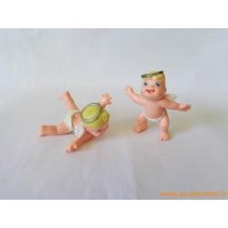 """Magic Babies anges"" lot de 2 figurines"