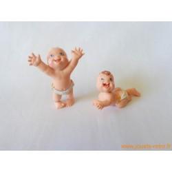 """""""Magic Babies"""" lot de 2 figurines"""