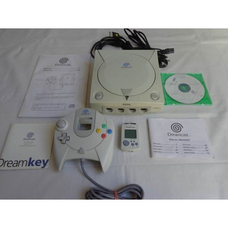 Console Sega Dreamcast + 1 manette + 1 Visual Memory