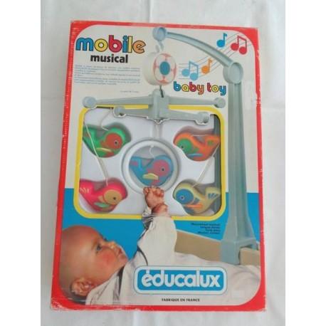 Mobile musical vintage - EDUCALUX