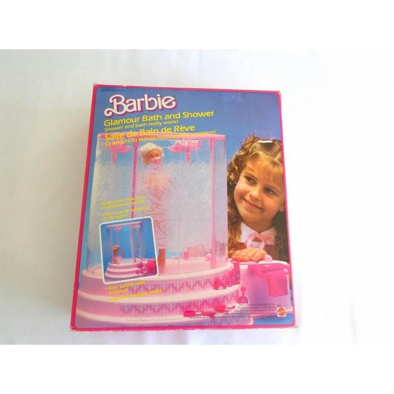 Salle de Bain de Rêve Barbie - Mattel 1985 - jouets rétro jeux de ...