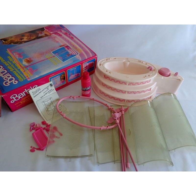 Salle de Bain de Rêve Barbie - Mattel 1985 - jouets rétro ...