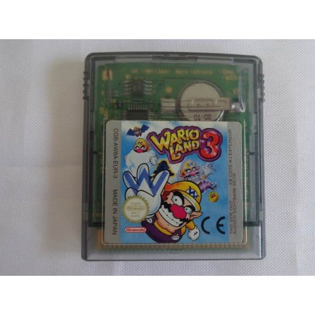 Wario land 3 - Jeu Game Boy Color
