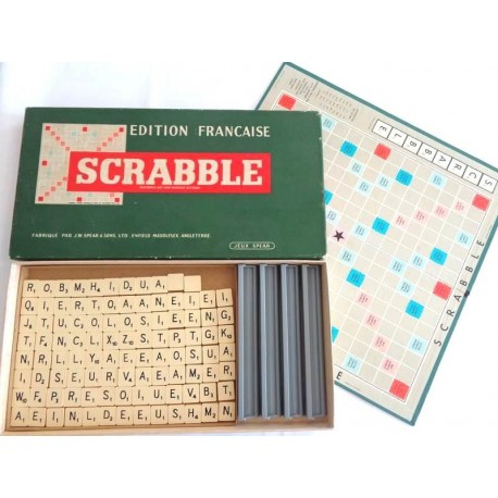 Scrabble - Jeu Spear 1955