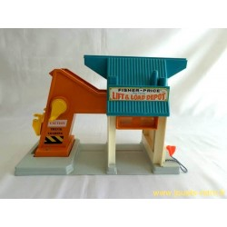 Play Family Lift & Load Depot - Fisher Price 1976