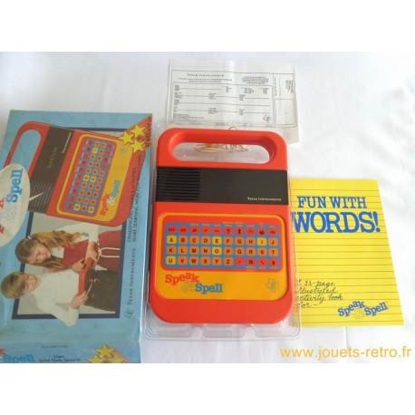 La Dictée Magique Speak & Spell - Texas Instruments 1981