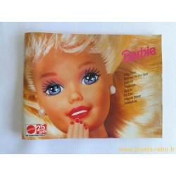 Catalogue jouets Mattel 25 ans de 1995