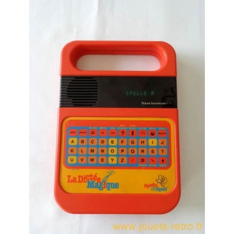 La Dictée Magique Speak & Spell - Texas Instruments 1981