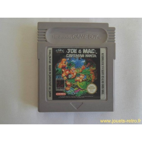Joe & Mac : Caveman Ninja - Jeu Game Boy