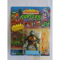 Leonardo Sword Slicin' - Wacky Action 1990 Playmates - TMNT Les Tortues Ninja