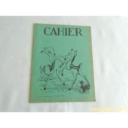 Cahier ancien Disney Bambi