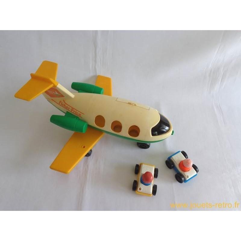 avion voitures personnages fisher price jouets r tro jeux de soci t jeux vid o livres. Black Bedroom Furniture Sets. Home Design Ideas