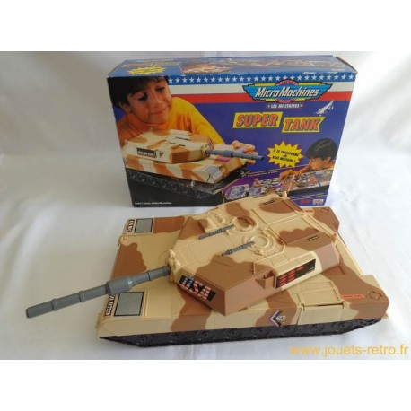 Super Tank Militaires Micro Machines - IDEAL 1992