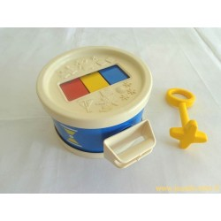 Tambour Xylo Drum Fisher Price - 1972