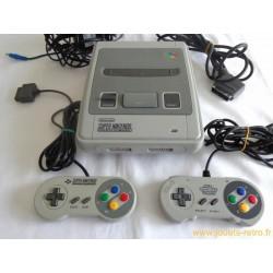 Console Super Nintendo + 2 manettes + cables