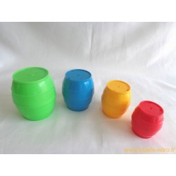 Tonneaux gigognes Playskool