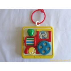 Mini tableau d'éveil train - Playskool 1988