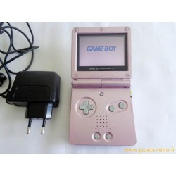 Console Game Boy Advance SP Pink Rose