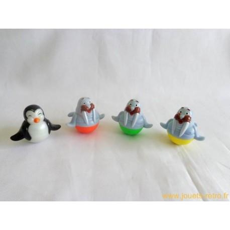 Morses et pingouins culbutos - Kinder Maxi