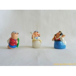 Les escargots - lot figurines Kinder