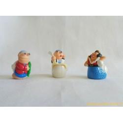 Les escargots - lot figurines Kinder