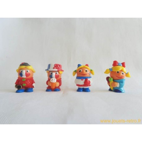 Supporters foot - lot figurines Kinder