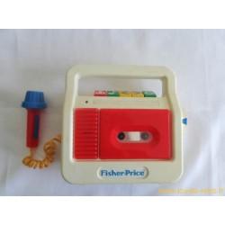 Magnétophone à K7 - Fisher Price 1990