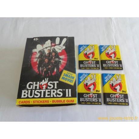 1 paquet de cartes SOS Fantôme 2 Topps 1989