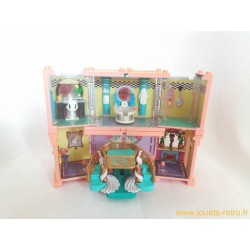 POLLY POCKET DELUXE BLUEBIRD DREAM MANSION BUILDERS 1999