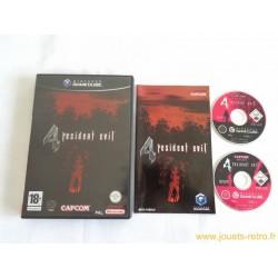 Resident Evil 4 - jeu Game Cube